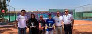 قهرمانی و نایب قهرمانی صفی و چراغی در رقابتهای تنیس بینالمللی جوانان