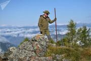 عکس روز | پوتین در جنگلهای سیبری