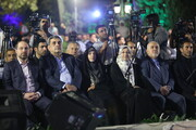 تصاویر | آیین نکوداشت روز تهران با حضور ظریف و حناچی