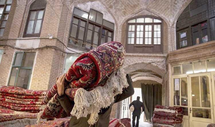 کاهش صادرات فرش دستباف آذربایجانشرقی