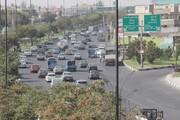 قفل ترافیک بر جاده تبریز - آذرشهر