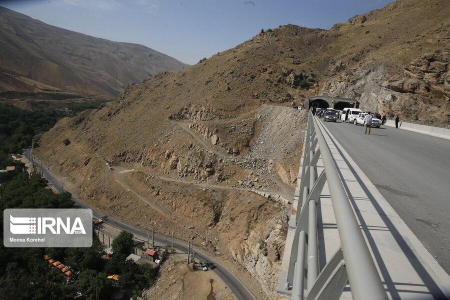 آزادراه تهران- شمال آذر امسال به خط پایان میرسد