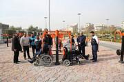 مناسبسازی بوستان ۲۲ بهمن برای معلولان