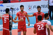 پیروزی تیم ملی والیبال ایران مقابل تونس