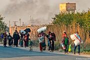 عملیات ترکیه در سوریه؛ آوارگی مردم و احتمال تحریم اردوغان