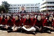 عکس روز: شین جین پنگ در مدرسه هندی