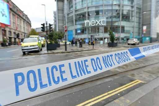 منچستر پليس حمله