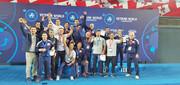تیم ایران قهرمان کشتی فرنگی پیشکسوتان جهان در گرجستان شد