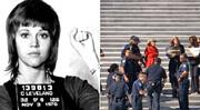 بازداشت بازیگر ۸۱ ساله روی پلههای کنگره آمریکا