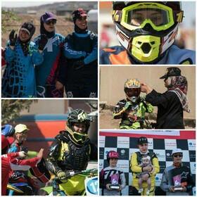 مسابقات موتور کراس بانوان؛ جشن قهرمانی مادرانه