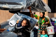 عکس روز: آوارگان سوری
