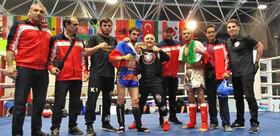 کسب ۲ مدال طلا در رقابتهای جهانی کیک بوکسینگ در لهستان