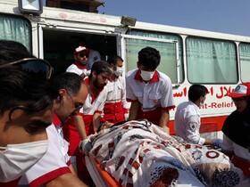 انتقال ۲۱۸ زائر مصدوم اربعین به کشور | ۳۴ مصدوم واژگونی اتوبوس زائران در شیراز بستری شدند