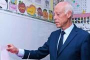 قیس سعید با ۷۶ درصد آرا پیروز انتخابات تونس شد