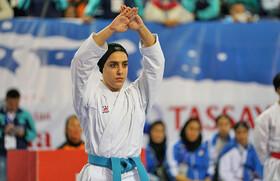 بازیهای جهانی ورزشهای ساحلی | مدال نقره کاتا بر گردن فاطمه صادقی