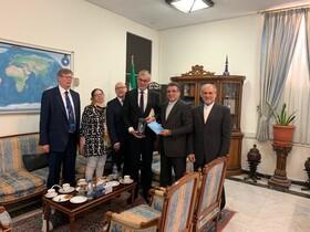 دیدار مدیران کل کنسولی ایران و فنلاند در تهران