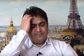 فیلم | حیرت کارشناس شبکه ایران اینترنشنال از عملیات دستگیری روح الله زم