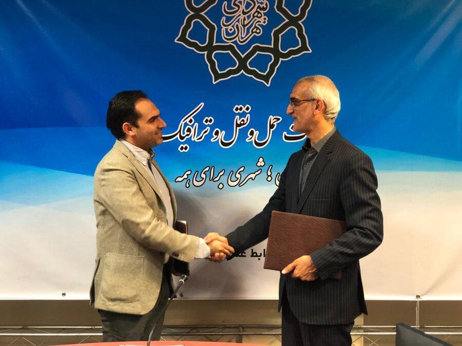 قرارداد همكاری یک شرکت مسافربر اینترنتی و معاونت حملونقل شهرداری تهران