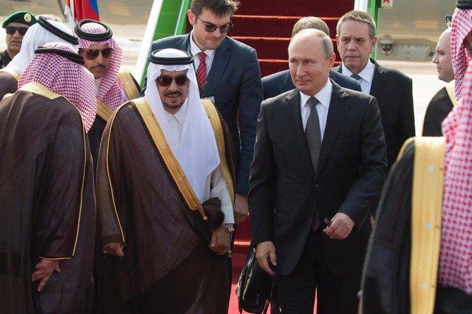 سفر پوتين به عربستان