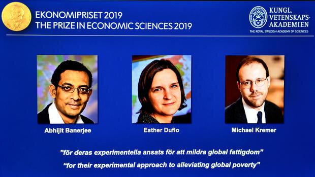 برندگان جايزه نوبل اقتصادي 2019