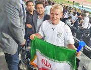 یک آلمانی در آزادی: ایران عشق من است | طرفدار تیم ملی هستم