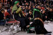 اجرای تعزیه در شهرک سیزده آبان