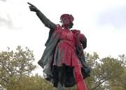 حمله وندالها به مجسمه کریستف کلمب