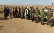 جزییات بازدید فرمانده نیروی زمینی ارتش از مرز خسروی