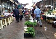 خیابان «اقتصاد» رشت در انتظار رسیدن به بازار
