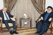 تاکید سید حسن نصرالله بر احیای روابط سوریه و لبنان و ثبات مالی