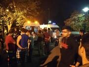 مسمومیت غذایی دانشجویان علم و صنعت | اعزام شبانه اتوبوسآمبولانس به خوابگاه نارمک
