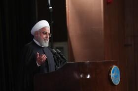 فیلم | روحانی: دعوا سر برجام نیست ؛ دعوا مسئله بالاتری است