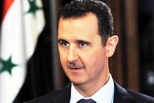 بشار اسد هوم پیج