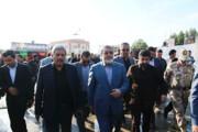 وزیر کشور در مرز حلبچه
