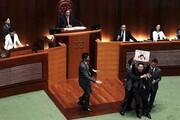 پارلمان هنگکنگمتشنج شد