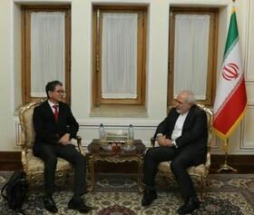 معاون ارشد سیاسی وزارت خارجه ژاپن با ظریف دیدار کرد