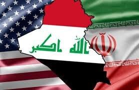 پرچم ایران، عراق و آمریکا