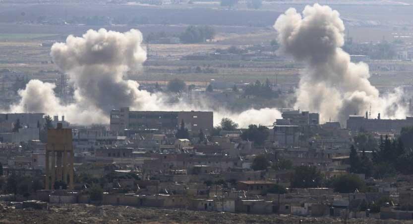 بمباران شمال سوريه توسط تركيه 833