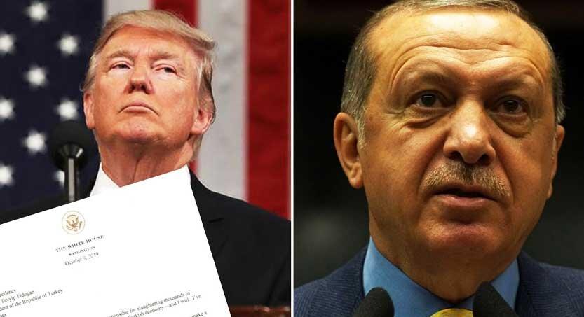نامه ترامپ به اردوغان 833