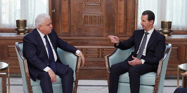 بشار اسد و فاتح فیاض