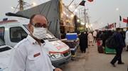 امدادرسانی اورژانس به ۳۰۰هزار زائر ایرانی و خارجی اربعین | انتقال ۴۳۰ مصدوم به مرزها