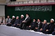 مراسم عزادارای اربعین حسینی با حضور رهبر انقلاب در حسینیه امام خمینی(ره) برگزار شد