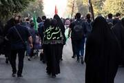 گزارش تصویری | پیادهروی جاماندگان اربعین در تهران