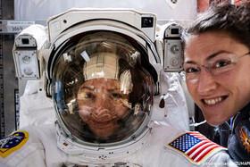 آغاز نخستین ماموریت تاریخی دو زن در فضا