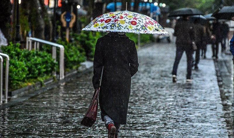 بارندگی - باران - آب و هوا