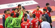 هندبال قهرمانی آسیا و انتخابی المپیک | دیدار با بحرین پس از یک برد تاریخی
