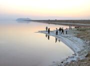 مساحت دریاچه ارومیه یک هزار و ۱۱۳ کیلومتر مربع بیشتر از سال گذشته است