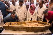رونمایی از ۳۰ تابوت سه هزار ساله در مصر