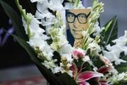 تصاویر | مراسم تشییع پیکر حسین دهلوی | بدرقه بزرگمرد موسیقی ایران