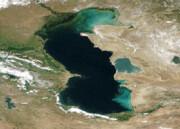 مساحت استفاده از دریای خزر مشخص نیست
